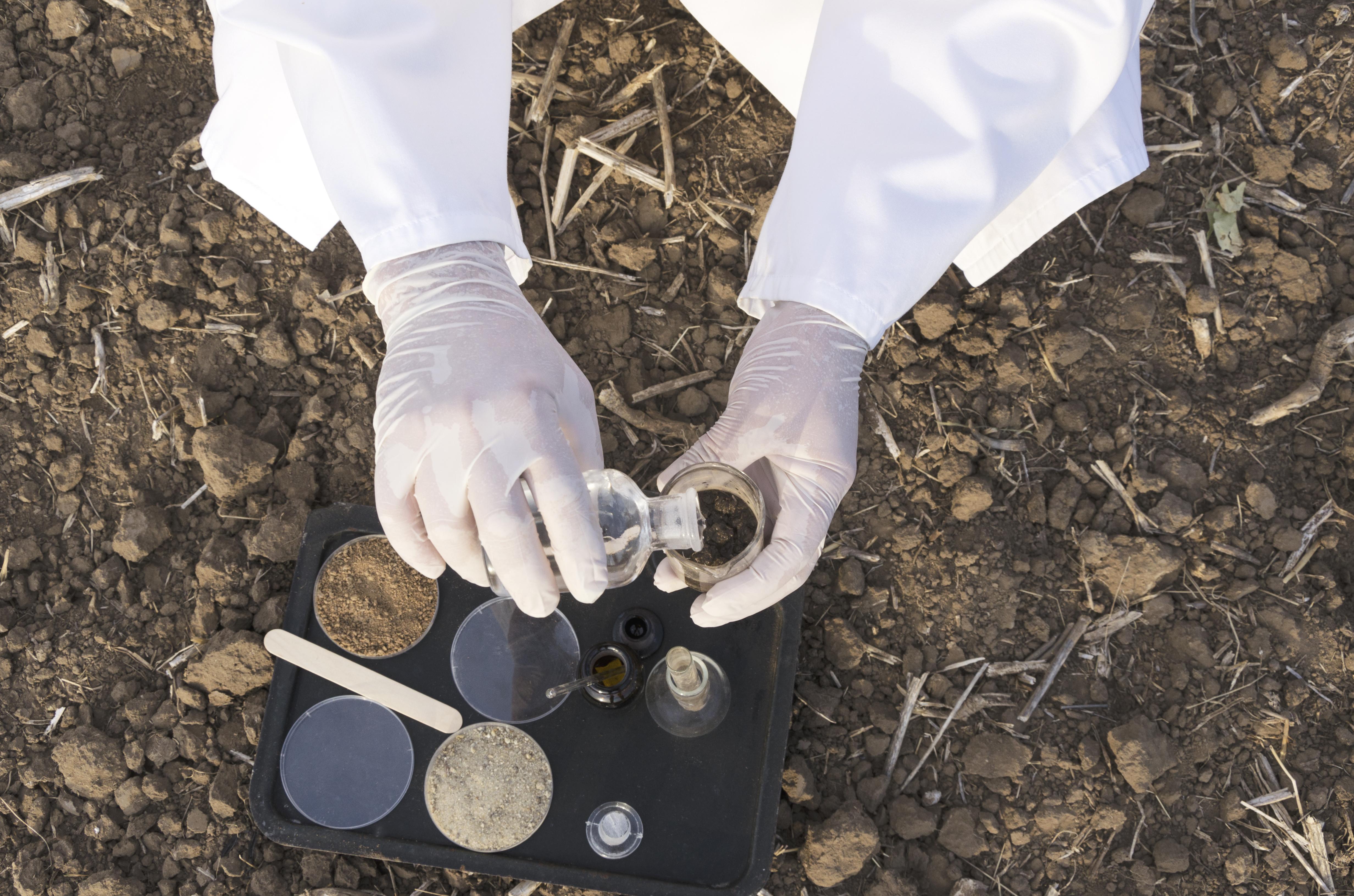 Soil Treatment Testing
