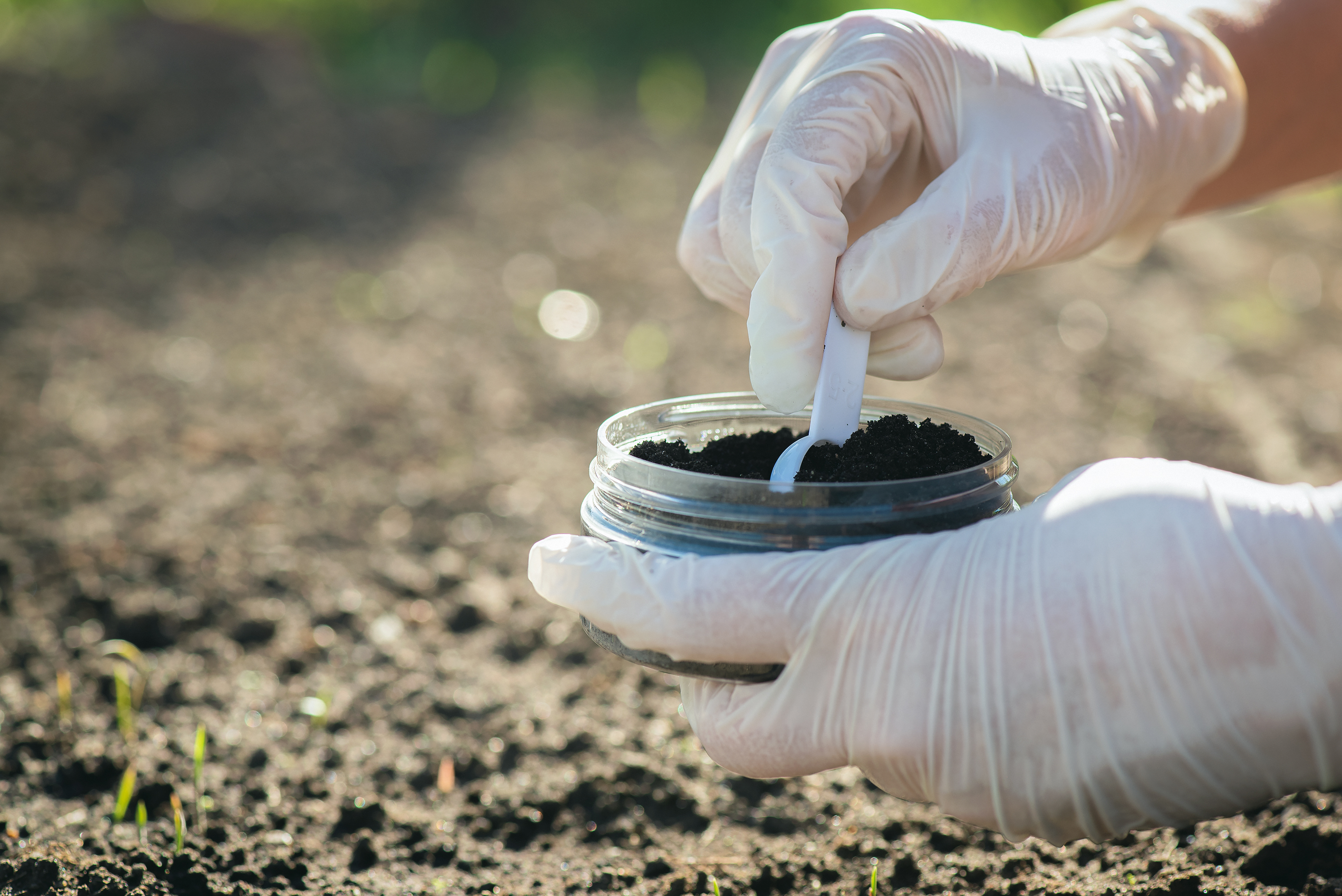 Soil Treatment Evaluation for contaminated soil