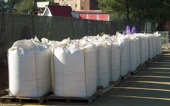 supersacks for soil remediation